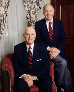 Robert B. Pamplin Sr.,  and Robert B. Pamplin Jr.